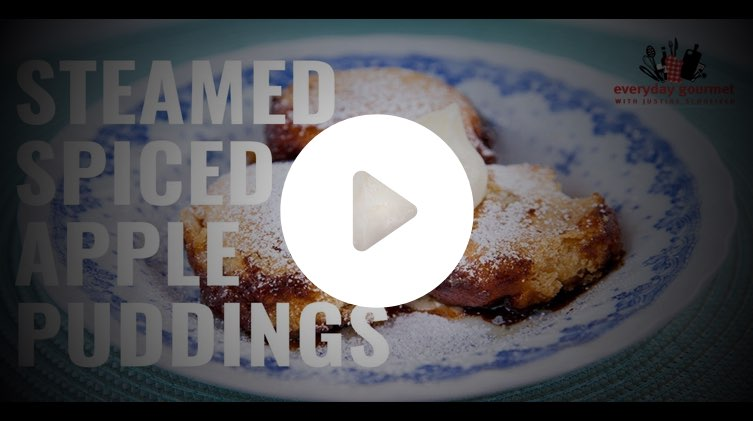 Steamed Spiced Apple Puddings with Tefal Cook4Me+ MultiCooker